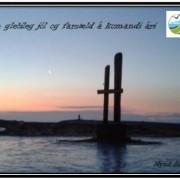 Sólarupprás í Óslandi 19. desember 2014